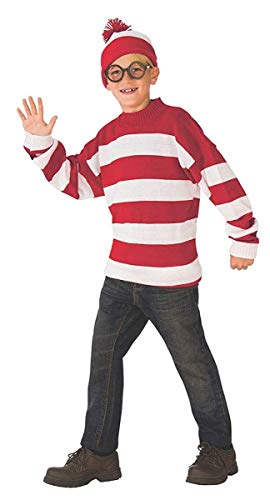 (Rubie's Deluxe Child's Where's Waldo Costume,)