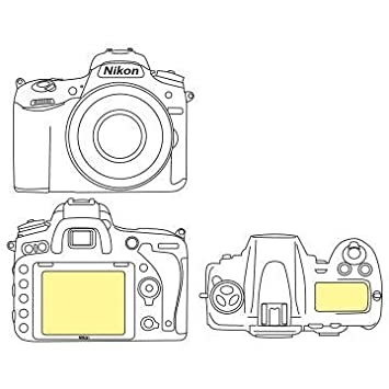 Martin Fields Overlay Plus Screen Protector (Nikon D750) - Includes Top LCD  Protector