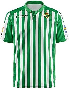 Kappa 2019/20 Real Betis Primera equipación: Amazon.es: Ropa y ...