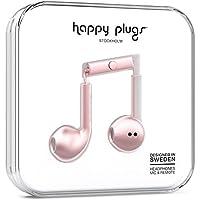 Happy Plugs Earbud Plus Headphone, Pink Gold (7827)