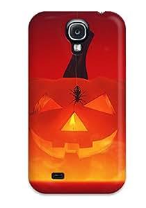 Galaxy S4 Happy Halloween Print High Quality Tpu Gel Frame Case Cover