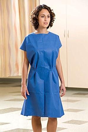 Amazon.com: Graham Medical Exam Gown, Disposable, Nonwoven, 30 Inch ...