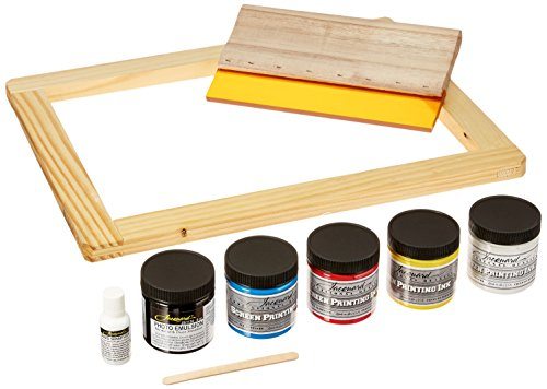 (Jacquard Products Opaque Screen Printing Kit,)