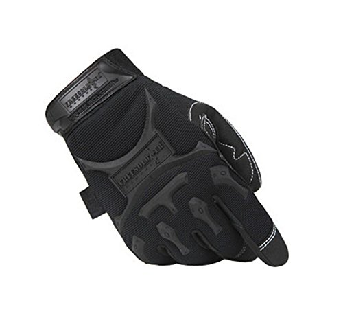 PANDA SUPERSTORE Cool Outdoor Sport Riding Camping Climbing Gloves Black, L