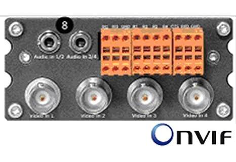 Vip de X1600 de xfm4 a Bosch, Video Encoder, 4 canales ...