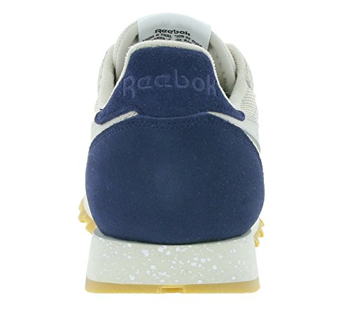 Marrone Leather SM Classic Multicolor Reebok Sneaker XxTZwYZ