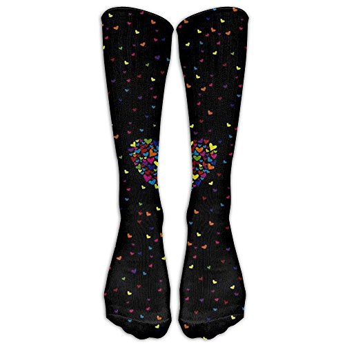 Flying Heart Unisex Tube Socks 100% Brand New Elastic Comfortable High Socks Ankle Cotton - Shipping Rates Class First