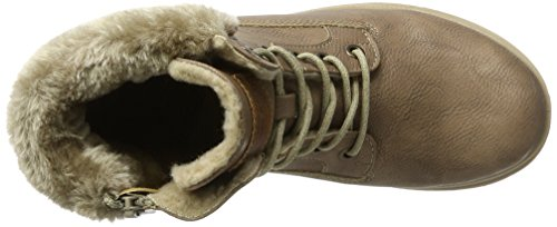 Mustang Gris 607 1207 Femme Bottes wfwFC