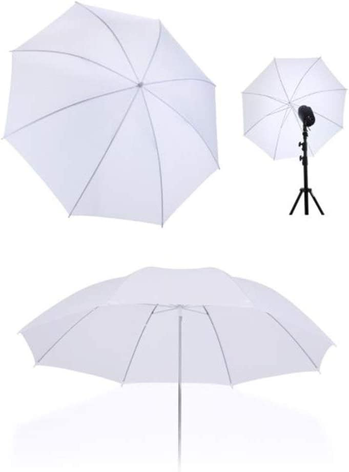 Shenghua1979 Photographic Reflector 40-inch Multi-Disc Light Reflector Umbrella with 8-Strand Umbrella Stand Direct Soft Umbrella Design Portraits Object Product Shooting Portable Reflector