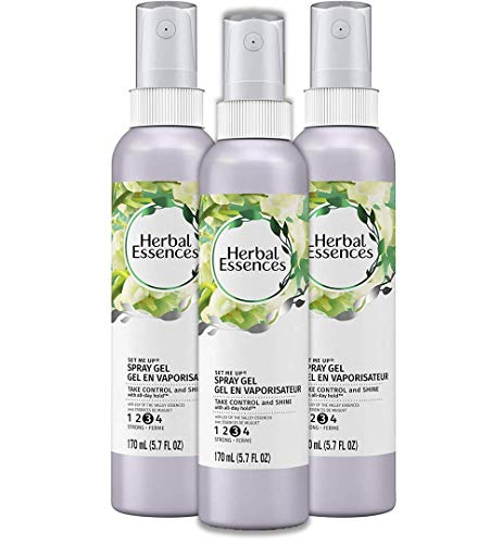 - Herbal Essences Set Me Up Spray Gel, 5.7 fl oz (Pack of 3)