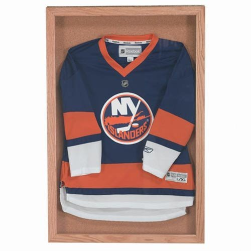 Souvenier and Memorabilia Display Case Frame Finish: High Gloss Clear Laquer, Size: 36