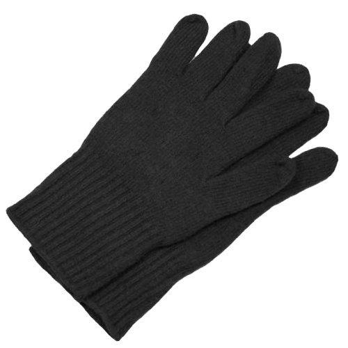 Tedd Haze Strick-Handschuh schwarz
