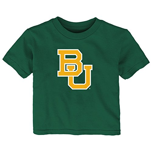 - NCAA Baylor Bears Infant Primary Logo Short Sleeve Tee, 18 Months, Hunter Green