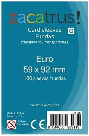 Fundas Euro (59MM X 92MM): Amazon.es: Juguetes y juegos