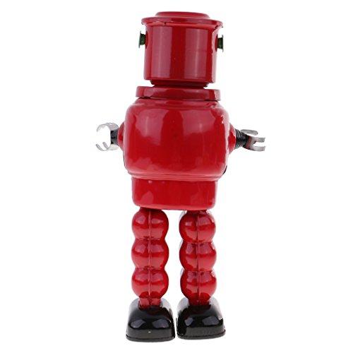 Homyl Well-designed Wind Up Tinplate Robot Mechanism Model Clockwork Toy Desk Kits by Homyl (Image #4)