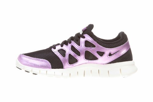 Nike Free 2 Prm Ext Dame Løbesko Model 555.340 202 Sort / Blacl-laser Lilla-sejl mAoEs8