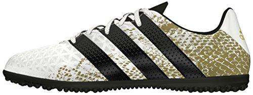 16 3 Jungen Gold Ftwr TF Black Metallic adidas Ace White J Fußballschuhe Weiß Core dqEZZtx