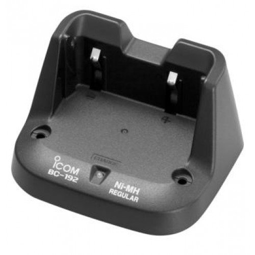 (Icom BC-192 trickle charger for F3001 F4001 F3101D F4104D  (Only charges the ni-mh BP-264 battery))