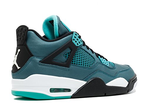 Nike Mænds Air Jordan 4 Retro Sneakers 30th Grøn Grøn / Hvid / Sort (krikand / Hvid-sort-retro) Ydw6ga