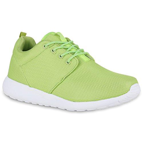 Bottes Paradis Unisexe Hommes Chaussures De Sport Course Sur La Taille Flandell Vert Fluo