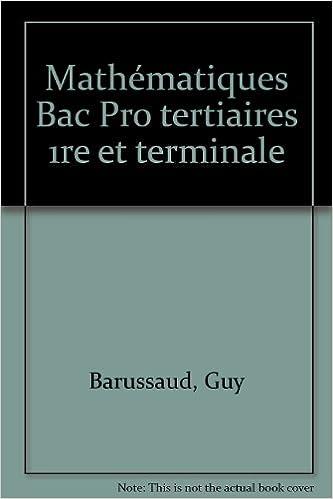 Livres gratuits Mathématiques, BAC Pro tertiaires (Ouvrage) epub, pdf