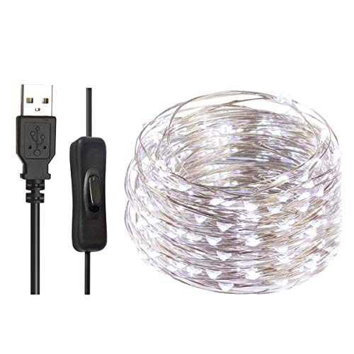 Led Christmas Lights Black Cable in US - 9