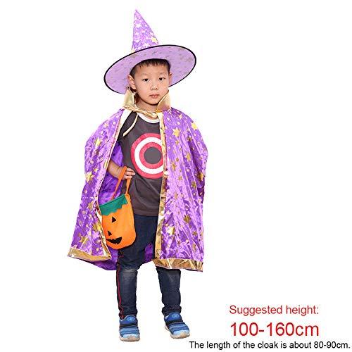 chtdz Nuevo Cosplay de Halloween Disfraz de Disfraces Brujo Mago ...