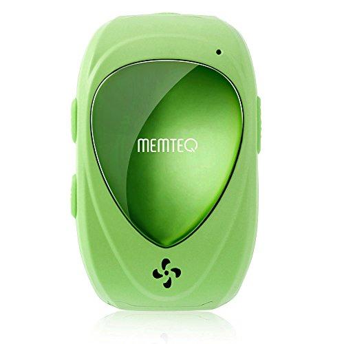 MEMTEQ® TF-02 Smartwatch Kinderuhr Ortungsuhr mit Gegensprechfunktion, GPS, SOS-Anruf, 2-Wege Kommunikation, Stimme Monitor, Bewegungsmonitor Wasserdicht Micro SIM-Kartenslot für Kinder und Stundenten, Grün