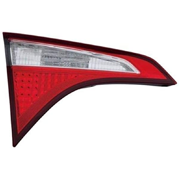 New TO2804118C CAPA Driver Side Outer Tail Light for Toyota Corolla 2014-2016