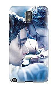 UJmzqKg7454VmxnH Tpu Phone Case With Fashionable Look For Galaxy Note 3 - Titanic Movie Romantic Couple