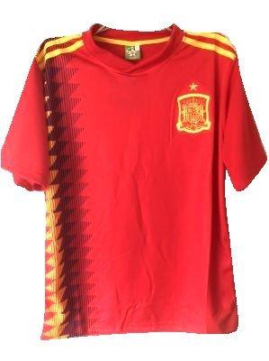 フィドルオン南?代引可?大人用 A014 スペイン DIEGO COSTA*19 ディエゴコスタ 赤 18 ゲームシャツ パンツ付