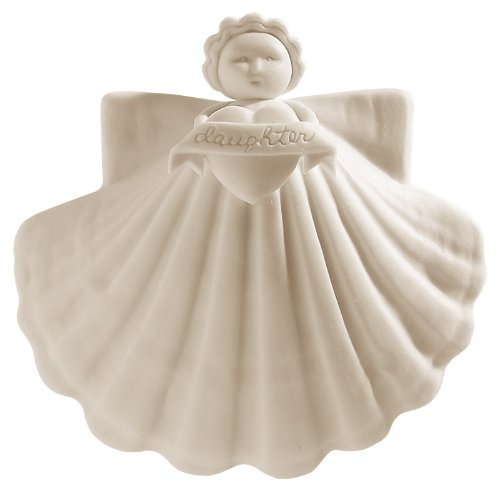 Margaret Furlong Daughters Angel Made in USA Porcelain Christmas Ornament