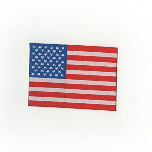 American Flag Patch Woven Borderless Iron-on ()