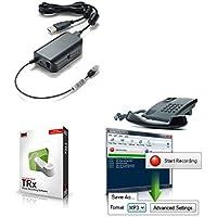 TRx Professional USB Telephone Call Recording Bundle