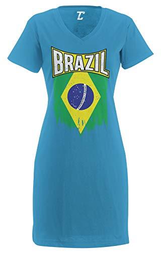 Brazilian Flag Dress - Tcombo Torn Brazil Flag - Brasil