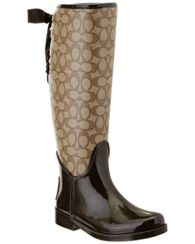 coach-womens-tristee-outline-rain-boot-khaki-chestnut-size-7