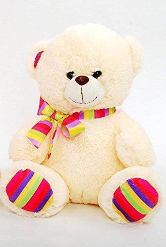 (DBK Gifts Baby Girl Rainbow Plush Stuffed Teddy Bear for all Ages)