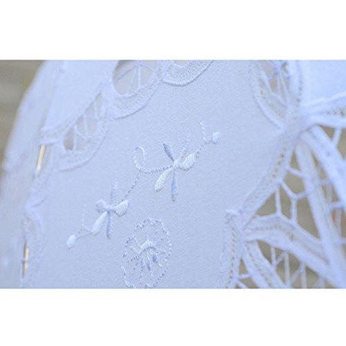 TBNA Bridal Lace Umbrellas Wedding Umbrella Bridal Parasol Umbrella for Bride Bridesmaid by TBNA Bridal (Image #4)
