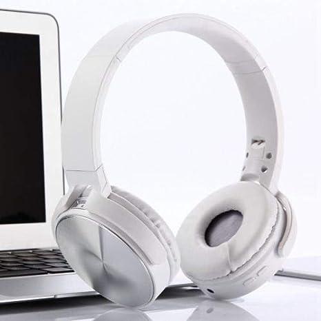 Mocei - Auriculares inalámbricos con Bluetooth para Sony MDR-XB950BT, color blanco: Amazon.es: Electrónica
