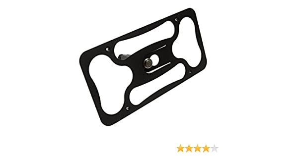 2017-2018 Made of Stainless Steel /& Aluminum No Drilling Installs in Seconds CravenSpeed The Platypus License Plate Mount for Audi A3//S3 Made in USA