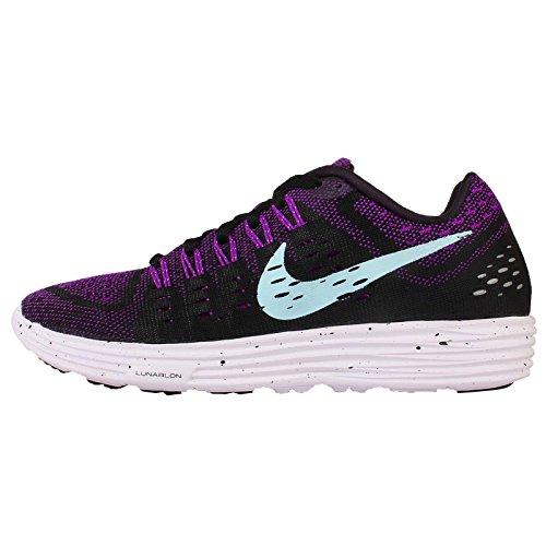 Nike Lunar Chaussures De Course Hommes Tempo Vif Violet / Noir Clair Copa