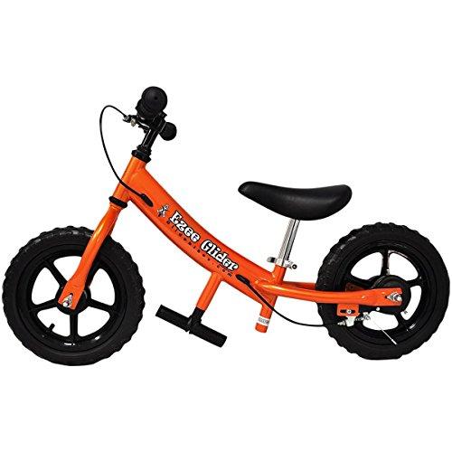 Glide Bikes 12 INCH EZEE Glider Balance Bike Orange