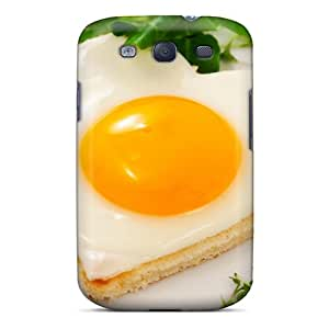 Ideal Saraumes Case Cover For Galaxy S3(love Egg Forever), Protective Stylish Case