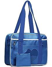 SteamedBun Ita Bag Kawaii - Bolso de hombro para la escuela japonesa, diseño de corazón