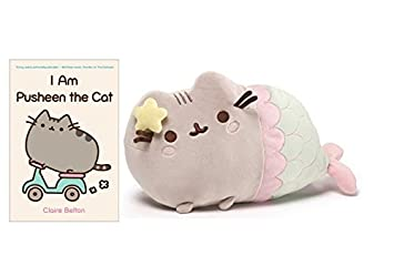 Gund Pusheen Mermaid 12u0026quot; And I Am Pusheen The Cat Book By Claire Belton