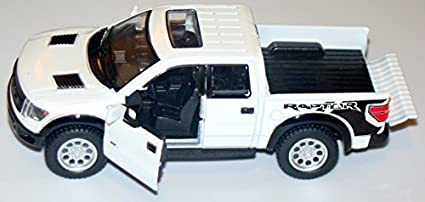 Amazon Com White 2013 Ford F 150 Svt Raptor Supercab 5 Inch Pickup