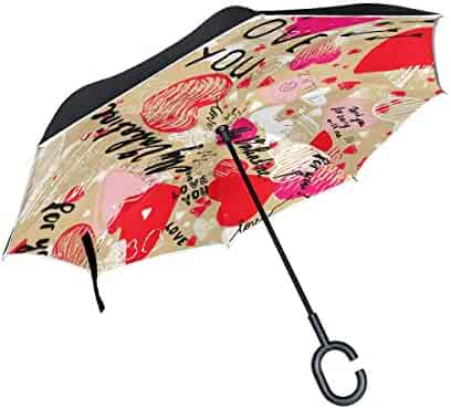 adc029c9db28 Shopping U LIFE - Multi or Ivory - Umbrellas - Luggage & Travel Gear ...