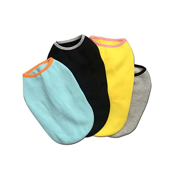 WUGOU Dog Cat Pet Shirt Clothes Puppy Vest Soft Thin Rainbow Unicorn 3 Sizes 4 Colors Available 10