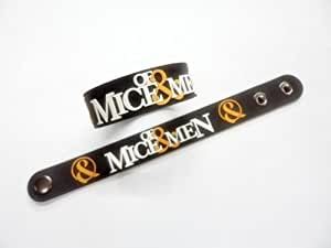 1x OF MICE & MEN MUSIC Rubber Wristband Bracelet