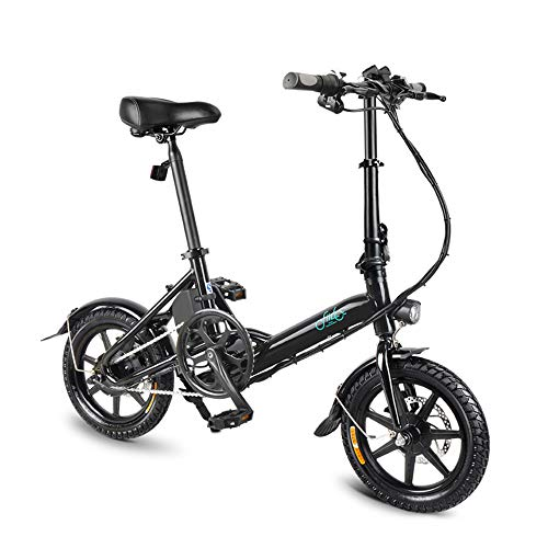 Lixada 14 Inch Folding Power Assist Electric Bicycle Moped E-Bike Bicicleta eléctrica 250W Brushless Motor 36V 7.8AH